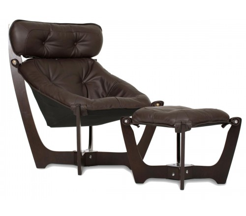 IMG Luna Leather High-Back Chair