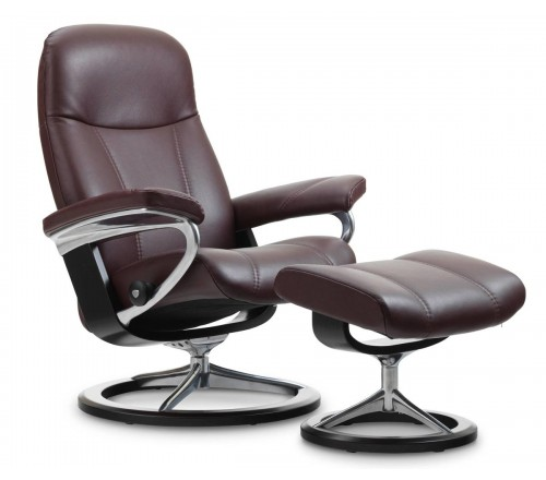 Stressless Consul Signature Recliner u0026 Ottoman. Be the first to review this product  sc 1 st  Recliner Store & Stressless Consul Signature Recliner u0026 Ottoman from $2195.00 by ... islam-shia.org