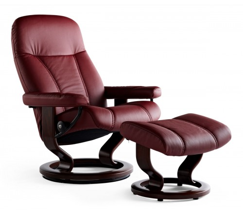 stressless consul classic recliner ottoman from 1 595. Black Bedroom Furniture Sets. Home Design Ideas