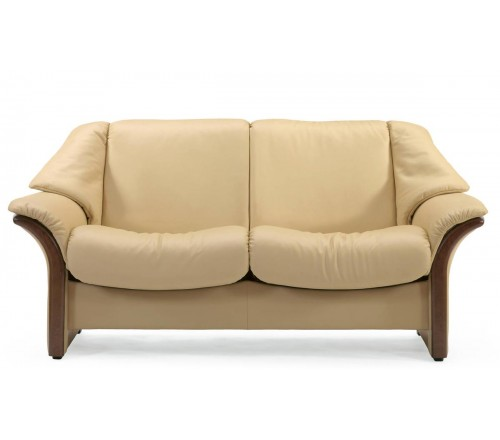 Stressless Eldorado Low-Back Loveseat
