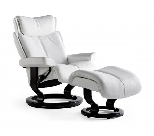 Stressless Magic Classic Recliner \u0026 Ottoman  sc 1 st  Recliner Store : stressless recliners reviews - islam-shia.org