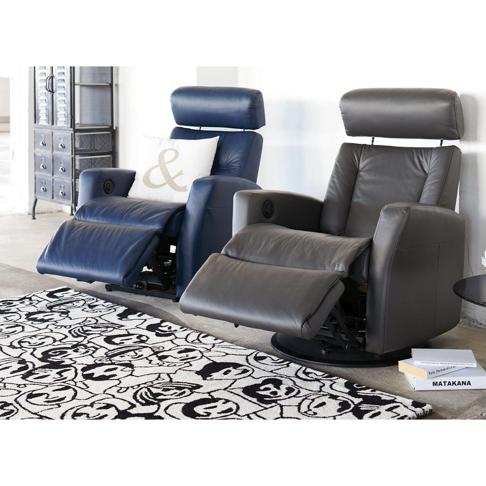 Best Leather Reclining Sofa Brands: IMG Divani Leather Relaxer Recliner From $1,370.25 By IMG