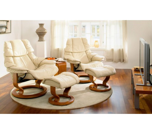 Stressless Reno Classic Recliner Ottoman from 279500 by