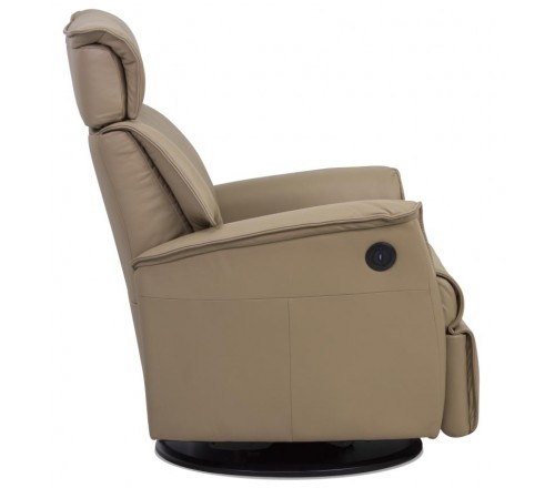 IMG Boss Leather Relaxer Recliner