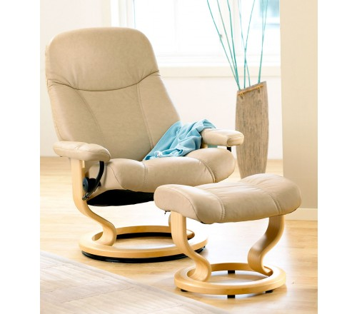 Stressless Consul Classic Recliner \u0026 Ottoman. 33 Review(s) | Add Your Review  sc 1 st  Recliner Store & Stressless Consul Classic Recliner \u0026 Ottoman from $1695.00 by ... islam-shia.org