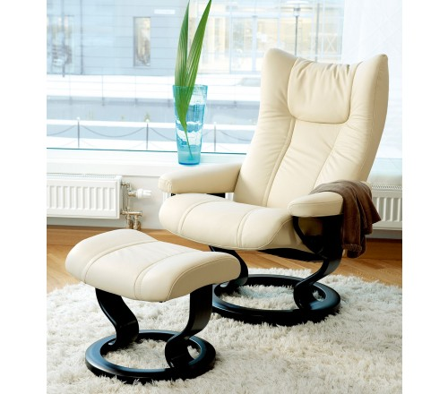Stressless Wing Classic Recliner Ottoman from 229500 by