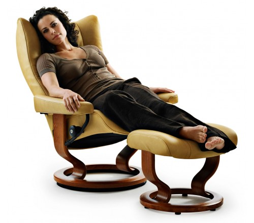 $2295.00 USD  sc 1 st  Recliner Store & Stressless Wing Classic Recliner u0026 Ottoman from $2295.00 by ... islam-shia.org