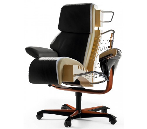 Stressless Consul Office Chair from $1,795.00 by Stressless - Recliner Store