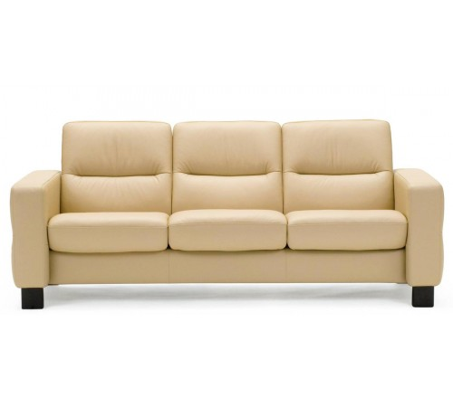 Stressless Wave Low Back Sofa From 2 By Stressless Recliner Store