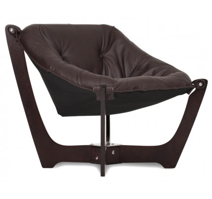 IMG Luna Leather Low-Back Chair