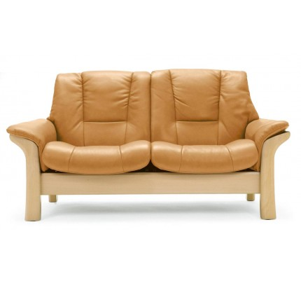 Stressless Buckingham Low-Back Loveseat