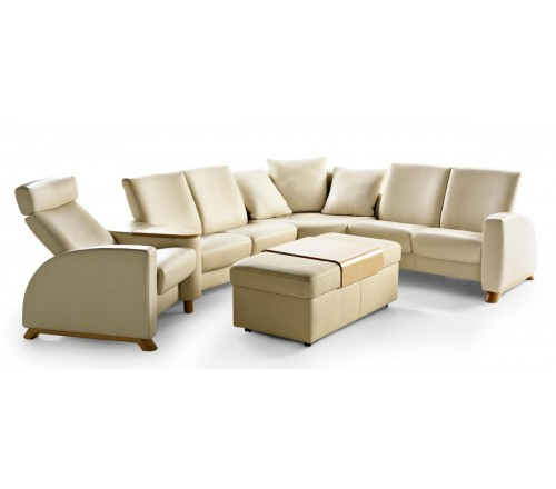 Stressless Arion Low Back Loveseat From