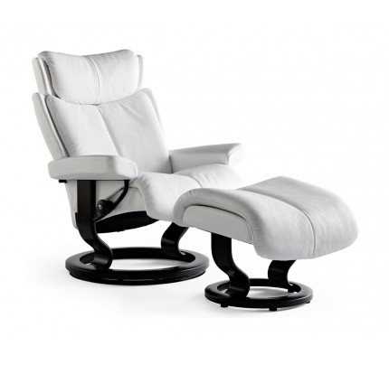 Stressless Magic Classic Recliner & Ottoman