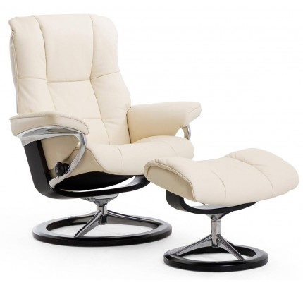 Stressless Mayfair Signature Recliner & Ottoman