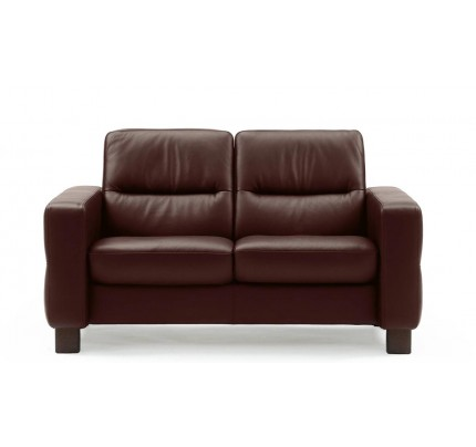 Stressless Wave Low-Back Loveseat