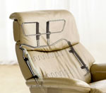Stressless recliners offer optimal neck and lumbar support